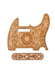 cheap -Circuit Board Wooden Guitar Fun TL for Acoustic and Electric Guitars Musical Instrument Accessories
