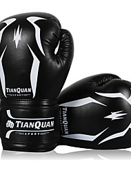 cheap -Training Equipment Boxing Bag Gloves Pro Boxing Gloves For Boxing Martial Arts Mixed Martial Arts (MMA) Breathable Wearable Protective PU Leather Men's - Black / Sponge
