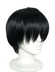 cheap -cosplay wig short synthetic black cosplay wigs women natural hair wigs high temperature fiber anmie wig Halloween
