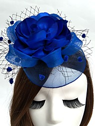 cheap -Net Fascinators / Hats / Birdcage Veils with 1 Wedding / Special Occasion Headpiece