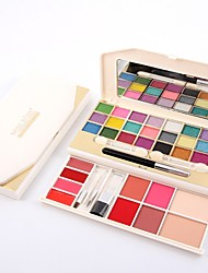 abordables -Fards à Paupières Stabilos Mat Lueur Brillant Maquillage Œil Lèvre Visage Lueur 34 couleurs Cosmétique Accessoires de Toilettage