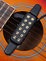 cheap -12 Hole Pickup / Transducer / Sound Hole Metal Fun Guitar / Classic Guitar / Acoustic Guitar Musical Instrument Accessories