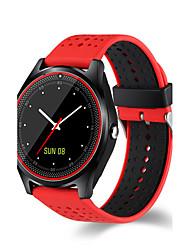 Недорогие -Муж. Спортивные часы Армейские часы Смарт Часы Цифровой Стеганная ПУ кожа Разноцветный 30 m Защита от влаги Сенсорный экран Будильник Цифровой Кулоны Роскошь Кольцеобразный Мода Элегантный стиль -