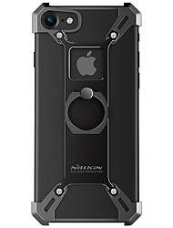 cheap -Case For iPhone 7 / iPhone 7 Plus / Apple iPhone 7 Plus / iPhone 7 Shockproof / Ring Holder Bumper Armor Hard Metal