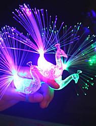 abordables -Eclairage LED Jouets Oiseau Animaux Lueur Pièces