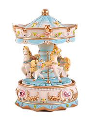 cheap -Music Box Horse Carousel Lovely Kid's Adults Kids Gift Girls' Gift