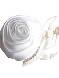 "cheap -Wedding Flowers Boutonnieres Wedding Bead / Satin 1.97""(Approx.5cm)"