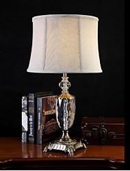 cheap -Tiffany Crystal Table Lamp For Metal 220-240V