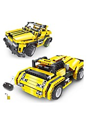 cheap -Remote Control RC Building Block Kit Toy Car Building Blocks Construction Set Toys Educational Toy Car Remote Control / RC DIY Boys' Girls' Toy Gift