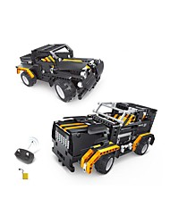 cheap -Remote Control RC Building Block Kit Toy Car Building Blocks Construction Set Toys Educational Toy Car Truck Remote Control / RC DIY Truck Boys' Girls' Toy Gift