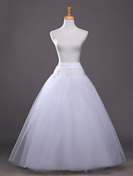 cheap -Wedding / Party / Evening / Party & Evening Slips Polyester / Taffeta / Tulle Floor-length A-Line Slip / Ball Gown Slip / Classic & Timeless with