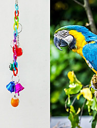 cheap -FUN OF PETS®Colorful  Snooker-shaped Chewing Lot with Bell for Birds
