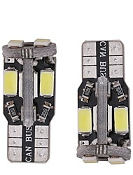 cheap -T10 Truck / Car Light Bulbs 3 W SMD 5730 290 lm LED Interior Lights For