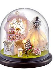 cheap -CUTE ROOM Balls Model Building Kit DIY House Plastics Glass Classic Unisex Toy Gift
