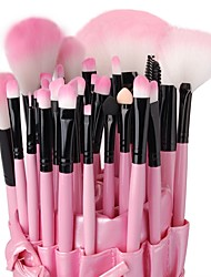 cheap -Professional Makeup Brushes Makeup Brush Set 32pcs High Quality Wooden Makeup Brushes for Eyeshadow Concealer Powders Blush Cosmetic & Makeup Bag Foundation Brush Lip Brush