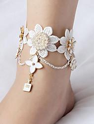 cheap -Belly Dance Jewelry Women's Performance Metal Appliques Bracelets
