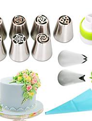 Недорогие -1 комплект Нержавеющая сталь + категория А (ABS) Экологичные Повседневное использование Формы для пирожных Инструменты для выпечки