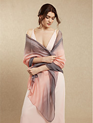 cheap -Shawls Rayon Wedding / Party / Evening Women's Wrap With