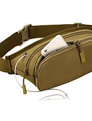 cheap -2 L Waist Bag / Waistpack Comfortable Outdoor Camping / Hiking Outdoor Nylon