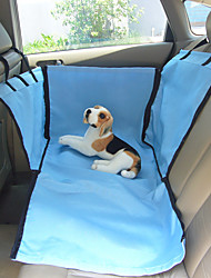 cheap -Dog Clothes Car Seat Cover Solid Colored Beige / Blue Cat / Dog