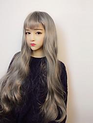 cheap -Lolita Wigs Sweet Lolita Dress Gray Lolita Lolita Wig 40 inch Cosplay Wigs Wig Halloween Wigs