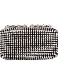cheap -Women's Rhinestone / Sparkling Glitter Glasses Evening Bag Black