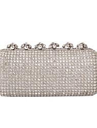 cheap -Women's Rhinestone / Sparkling Glitter Glasses Evening Bag Black / Gold / Silver