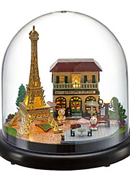cheap -CUTE ROOM Balls Music Box Model Building Kit Classic House DIY Unique Plastics Crystal Glass Women's Unisex Girls' Kid's Adults Adults' Graduation Gifts Toy Gift