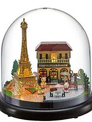 cheap -CUTE ROOM Balls Music Box Model Building Kit House Classic DIY Kid's Adults' Gift Unisex Gift