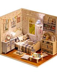 abordables -A Faire Soi-Même Bâtiment Célèbre Meuble Maison En bois Enfant Fille Jouet Cadeau
