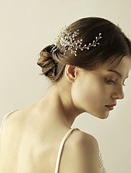 cheap -Crystal Hair Combs / Flowers with 1 Wedding / Special Occasion / Anniversary Headpiece