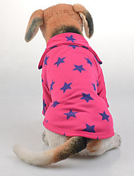 cheap -Dog Shirt / T-Shirt Dog Clothes Casual/Daily Sports Stars Yellow Red Blue