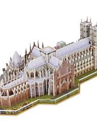 abordables -Puzzles 3D Puzzle Bâtiment Célèbre Bois Naturel Unisexe Jouet Cadeau