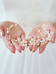 cheap -Imitation Pearl Headbands with 1 Wedding / Special Occasion / Halloween Headpiece