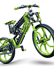 cheap -Toy Car Building Blocks 3D Puzzle Bicycle DIY Plastics Kid's Adults' Boys' Girls' Toy Gift / Educational Toy