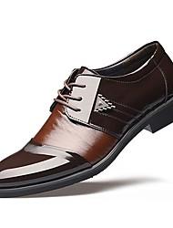 cheap -Men's Formal Shoes TPU Fall / Winter Business Oxfords Black / Brown / Wedding / EU41