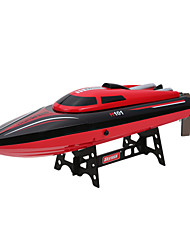 cheap -RC Boat H101 Speedboat ABS 4 pcs Channels KM/H