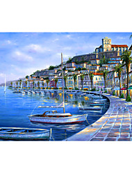 cheap -1000 pcs Landscape Ship Jigsaw Puzzle Adult Puzzle Jumbo Wooden Adults' Toy Gift