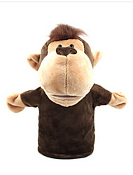 cheap -Finger Puppets Hand Puppets Duck Horse Lion Sheep Zebra Monkey Animals Lovely Cotton Cloth Imaginative Play, Stocking, Great Birthday Gifts Party Favor Supplies Adults'