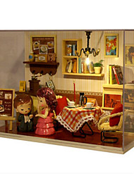 cheap -DIY Furniture House Plastics Wooden Classic Unisex Toy Gift