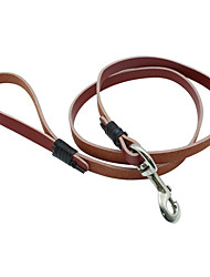 cheap -Leash Portable Breathable Safety Solid PU Leather
