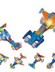 cheap -DOUZHI Toy Car LED Lighting Building Blocks Educational Toy Construction Set Toys 91 pcs Novelty Race Car compatible Crystal ABS Legoing Creative DIY Race Car Unisex Boys' Girls' Toy Gift / Kid's