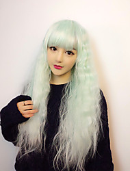 cheap -Lolita Wigs Sweet Lolita Dress Green Lolita Lolita Wig 28 inch Cosplay Wigs Wig Halloween Wigs