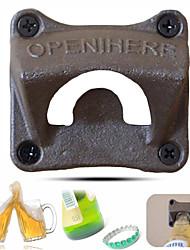 Недорогие -Настенный открывалка для бутылок открывалка для пивных бутылок открывалка для пива - 1 шт.