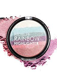 cheap -1pcs-rainbow-highlighter-powder-palette-bronzer-contour-soft-mineral-face-highlighter-makeup