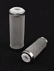 cheap -Stainless Steel Filter Inlet Case/Mesh/Shrimp Nets Set Special Shrimp Cylinder Filter Inflow Inlet Protect Aquarium Accessories