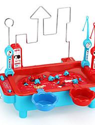 Недорогие -Магнитные игрушки Рыболовные игрушки Рыбки Магнитный Электрический 4 игрока Пластик Детские Игрушки Подарок 1 pcs