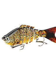 cheap -1 pcs Fishing Lures Multi Jointed Swimbaits 7 Segment Sinking Bass Trout Pike Bait Casting Lure Fishing General Fishing