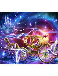 Недорогие -Замок Карета Знаменитое здание Мультяшная тематика Звезда Пазлы Головоломка для взрослых Огромный деревянный Взрослые Игрушки Подарок