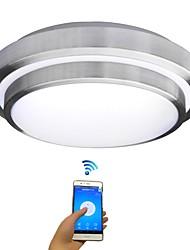 cheap -JIAWEN 35 cm Bulb Included Flush Mount Lights Metal Modern Contemporary 85-265V